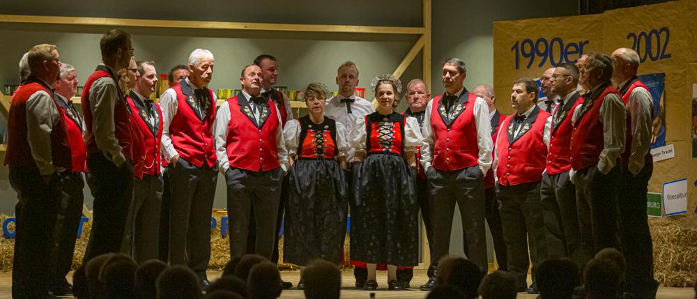 "2019: Jodlerklub ""Echo va de Chrüzflue"", St. Silvester"