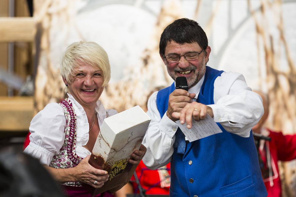 Trudi Lauper mit Präsident Markus Lauper