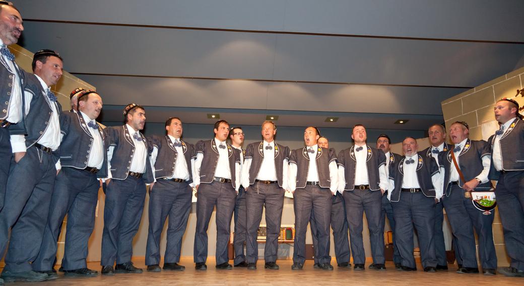 2011: Jodlerklub Alphüttli, Plaffeien