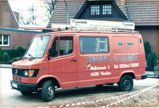 Erste Firmenauto 1991