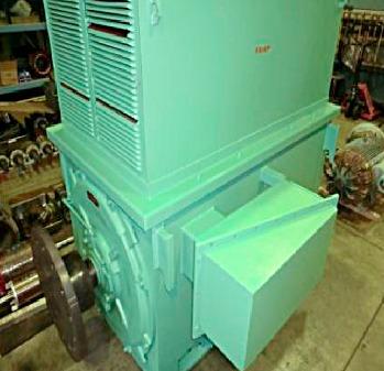 (安川製)600kw高圧モーター整備
