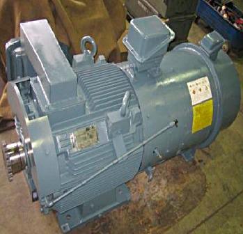 (富士電機製)45kwモーター整備