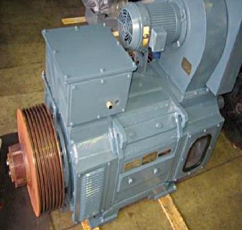 (安川製)DCモーター200kw整備