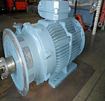 (ABB製)90kwモーターのコイル巻替え2