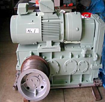 (神鋼製)減速機付モーター22kw整備