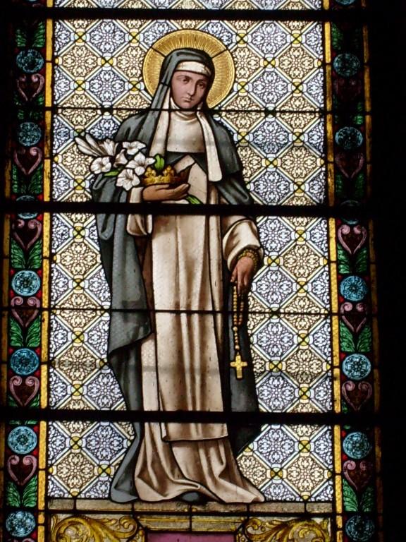 Clara die heilige Ordensfrau