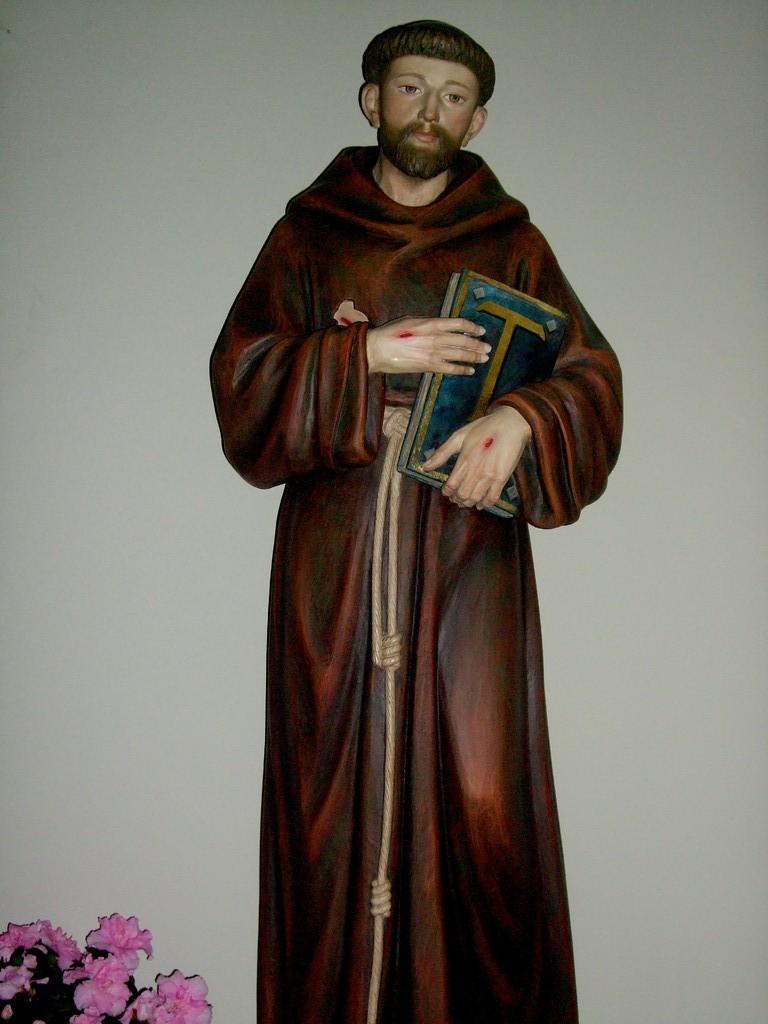 Der hl. Franziskus