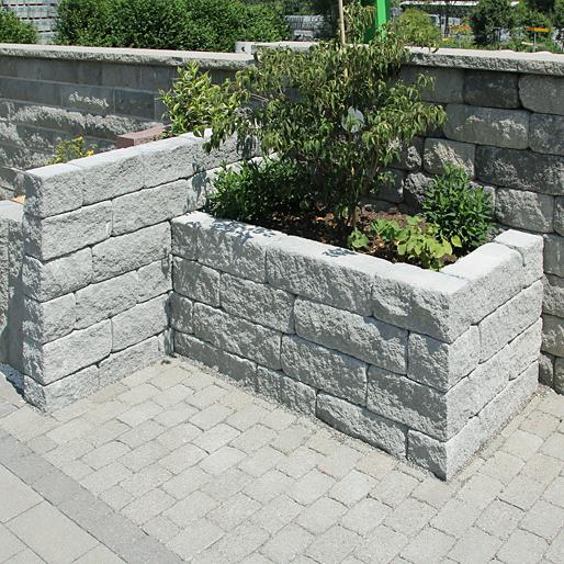 Betonmauerstein BiMuro Mauer
