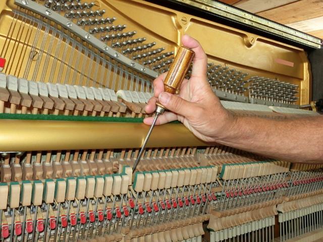 ピアノの弾き心地を決める整調