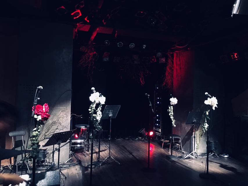ステージはこんな感じ。