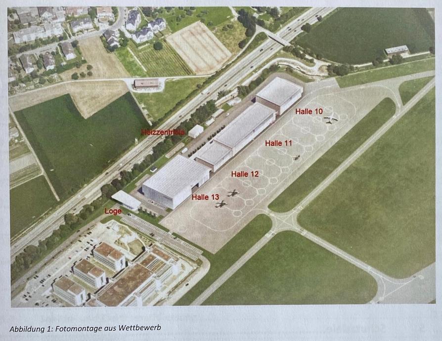 Neubau Bundesbasis | Quelle: armasuisse