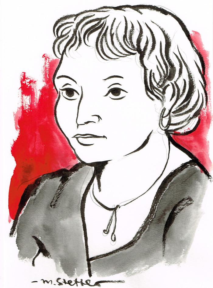 Portraitzeichnen bei einer Silberhochzeit