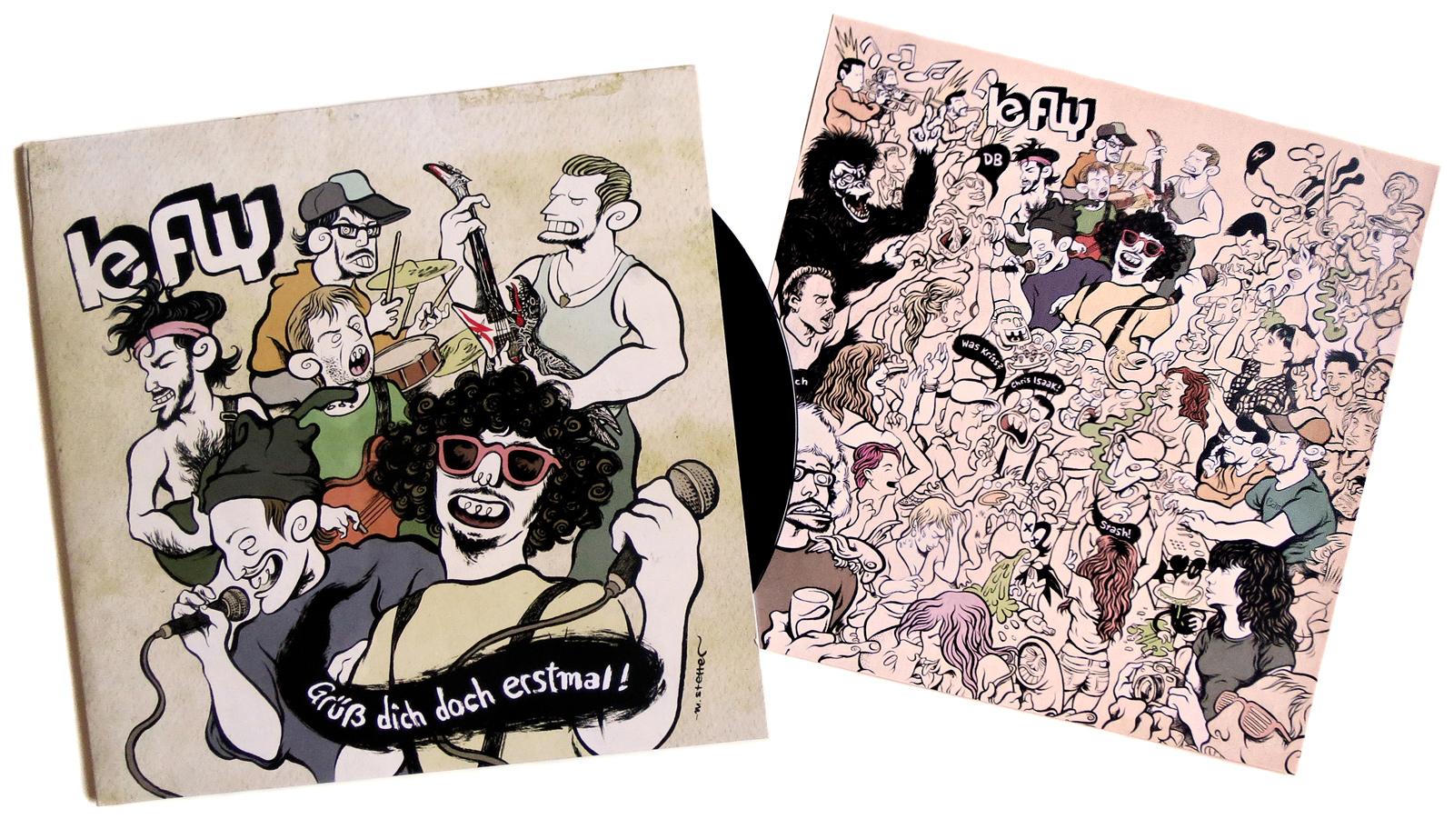 "Le Fly ""Grüß dich doch erstmal"" - Album-Artwork"