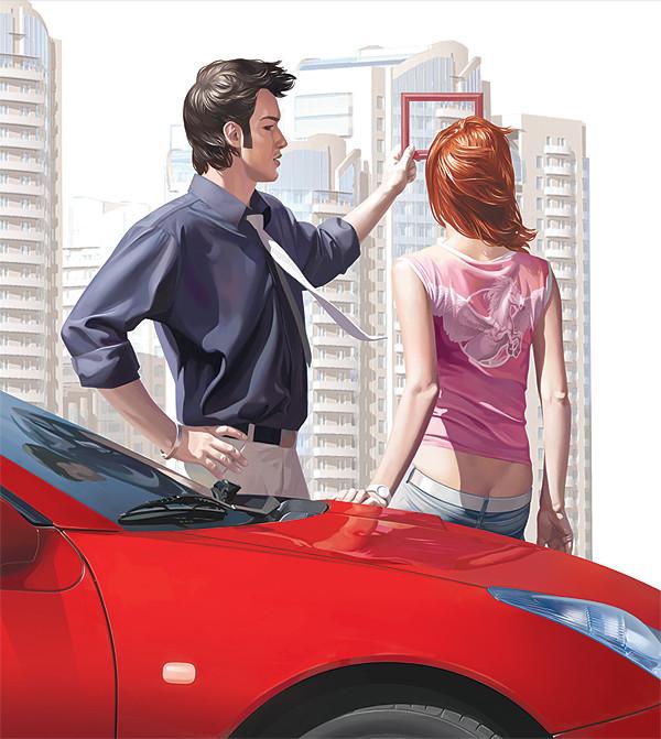 """рекламный имидж для строительной компании """"М-индустрия"""", 2008"""