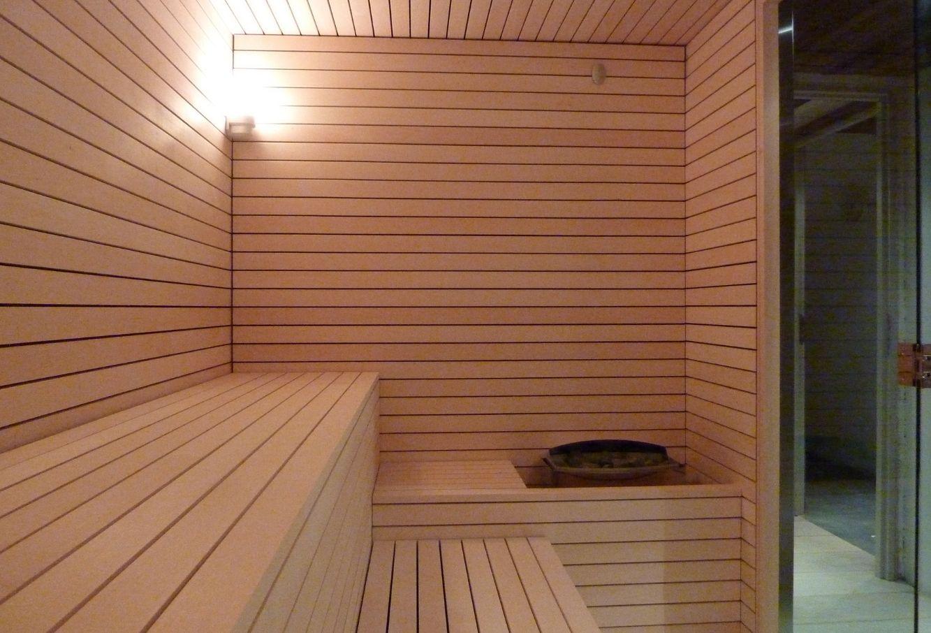 Sauna en tilleul