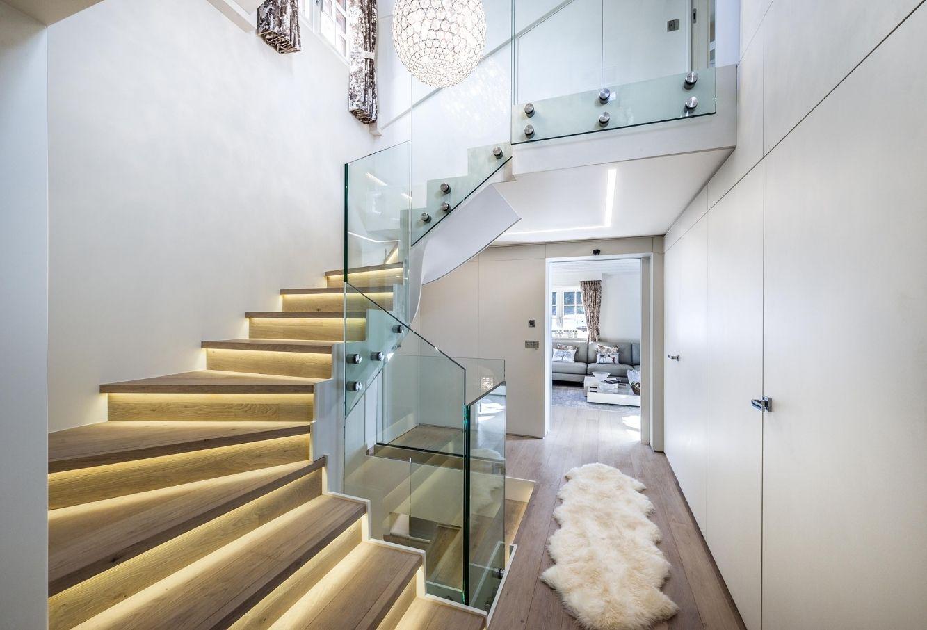 Cage d'escalierlaque