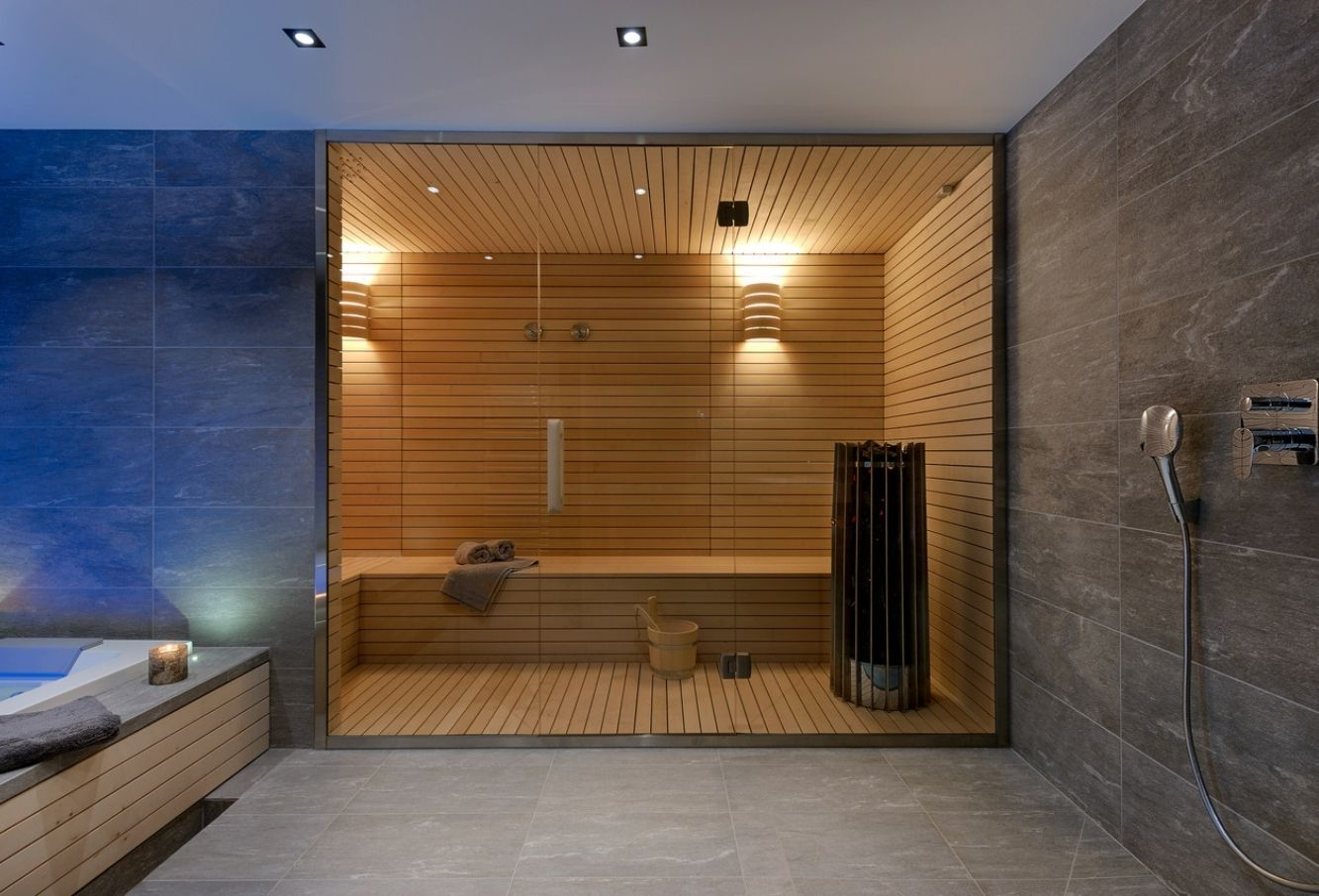 Sauna en érable