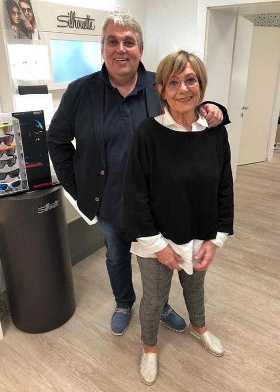 Haselsteiner Senior und Junior: Helga & Reinhard