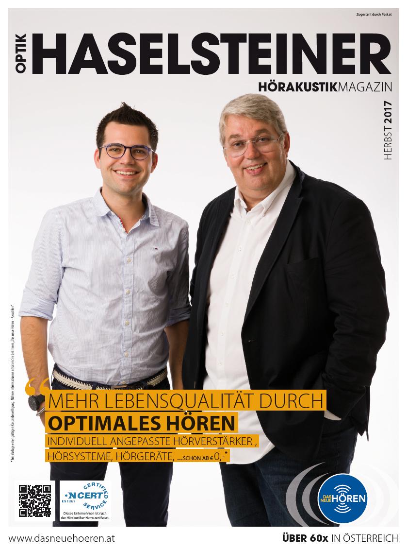 Hörakustik- Magazin Herbst 2017