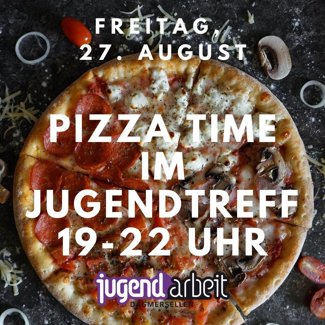 Pizza-Time im Jugendtreff