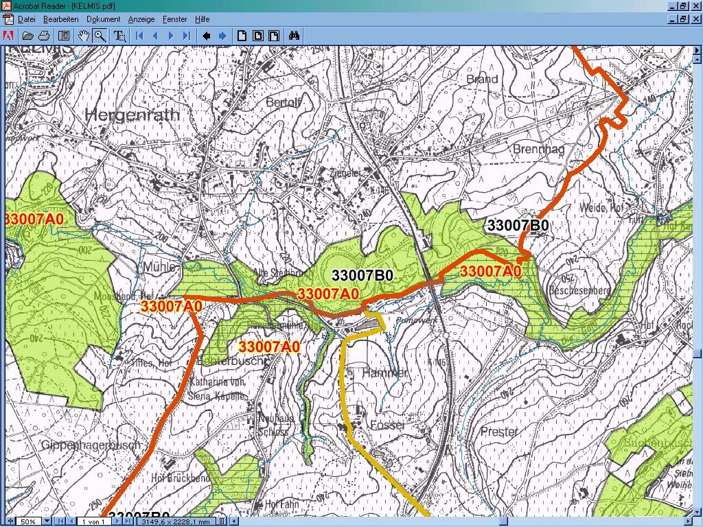 Bebauung Hauseter Straße Hergenrath Steffens BiHU Natura-2000-Gebiet
