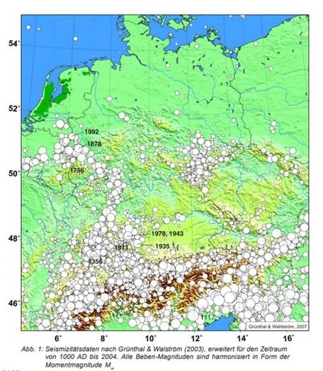 Erdbeben, Ardennen, BiHU