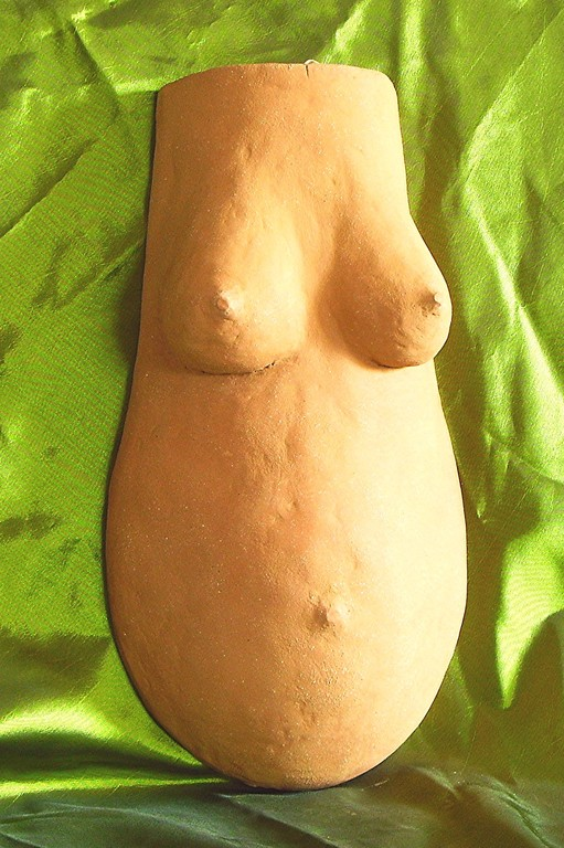 sculpture masque abdominal