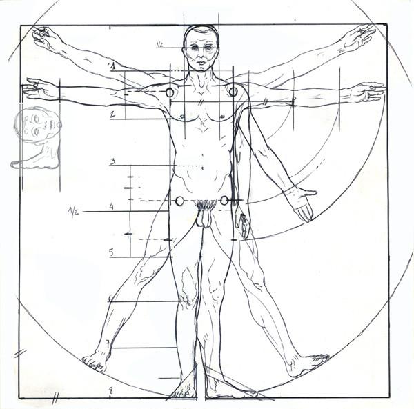 proportions du corps. nouveausculpteur cours de sculpture.