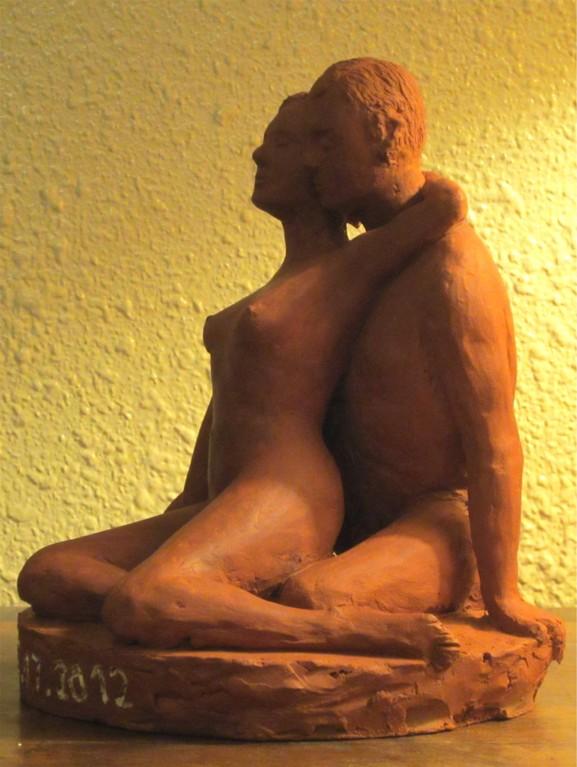 пары обнаженной скульптуры, скульптуры глиняная скульптура Арт-ню, эротические скульптуры, sculpture couples nu, sculpture argile, sculptures de nu artistique,sculpture érotique,nouveausculpteur.org.