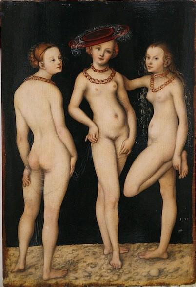 Lucas Cranach l'Ancien. 1531.