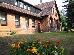 Das Haupthaus des Wohnheims in Nordkampen