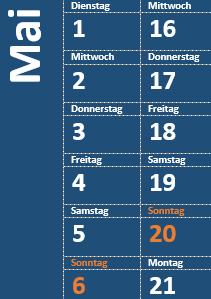 Tabellen in Word: Schnelltabellen