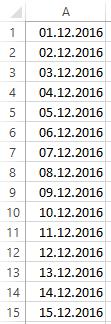 Excel: fiktive Tabelle für Erklärung bedingte Formatierungen