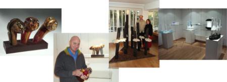 Jean-Pierre Seurat und Georges Stahl Studioglas in der CCAA GLASGALERIE KÖLN
