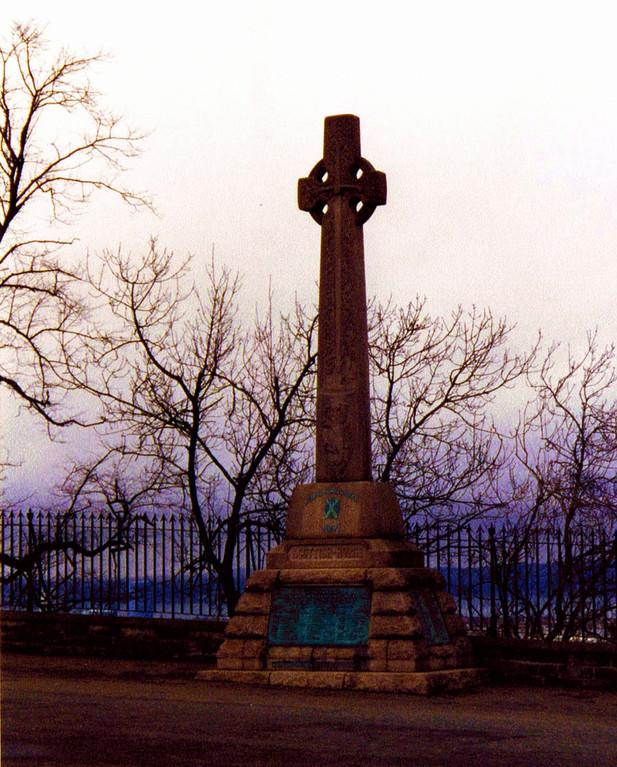 Croix celtique, Edimbourg, Ecosse