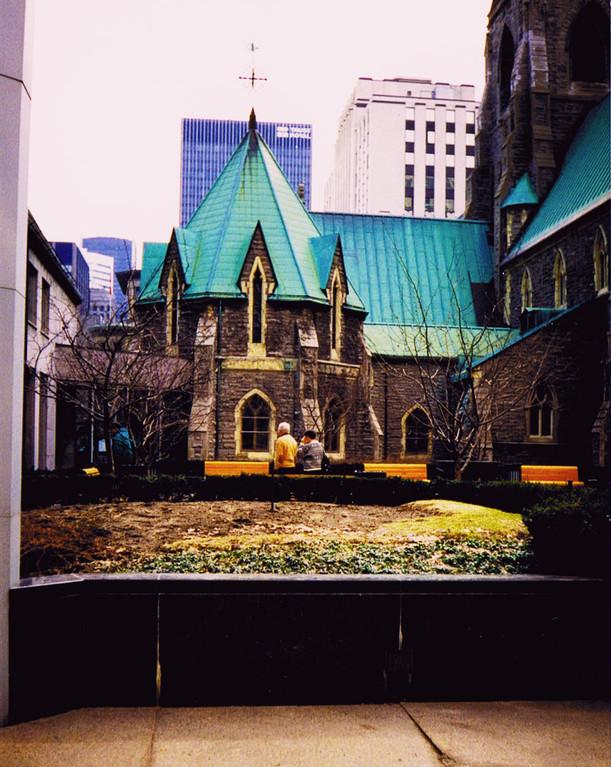 Mélanges de structures architecturales, Montréal, Canada
