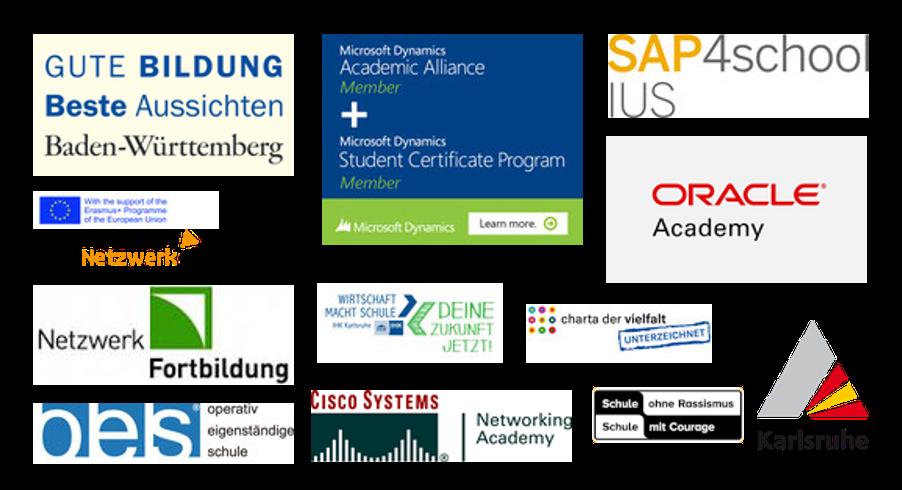 Mitgliedschaften und Partner der Walter-Eucken-Schule