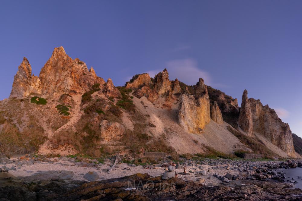 積丹町絶景の海岸