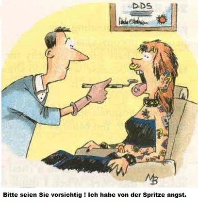 Lustiges vom Internet - Furini Lorenz Zahnarzt / dentista Gais