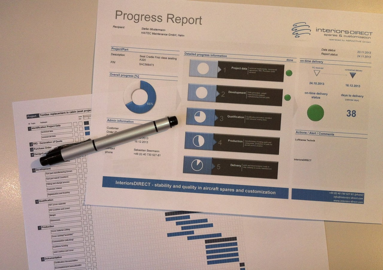 Project Plan and Progress Reporting