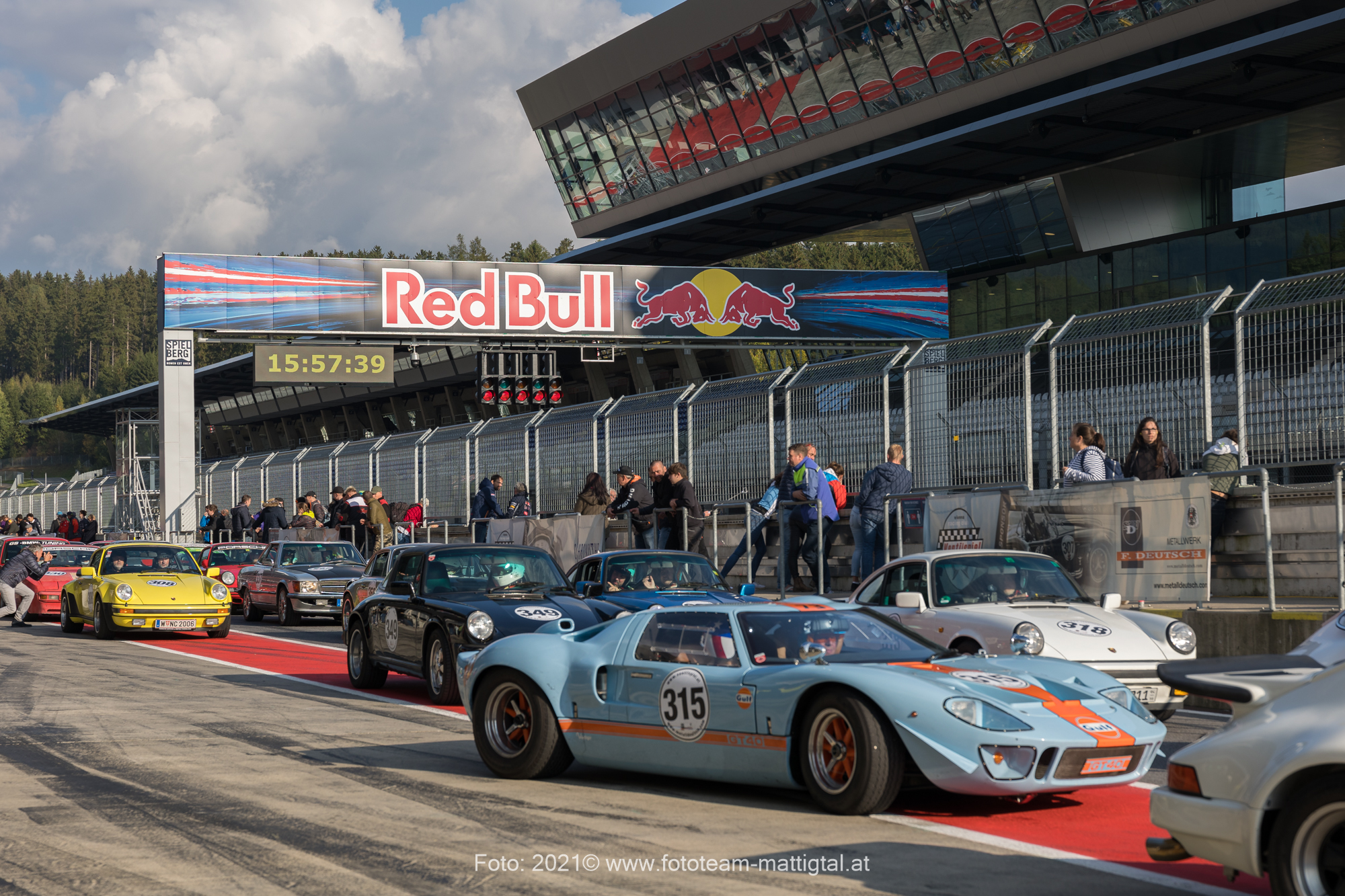 Boxengasse am Red Bull Ring