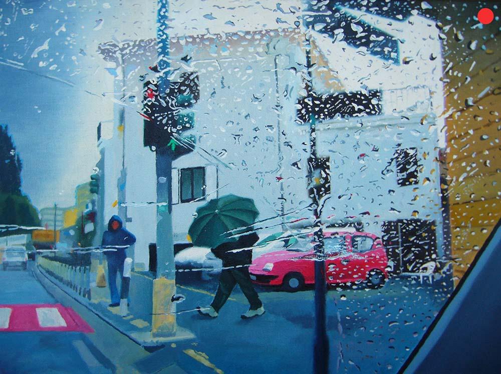 Via Aurelia, Oil on Canvas, 40 x 50 cm