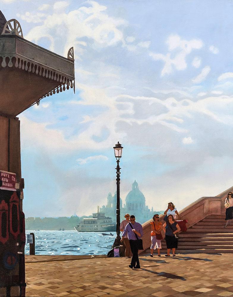 Venice I, Oil on Canvas