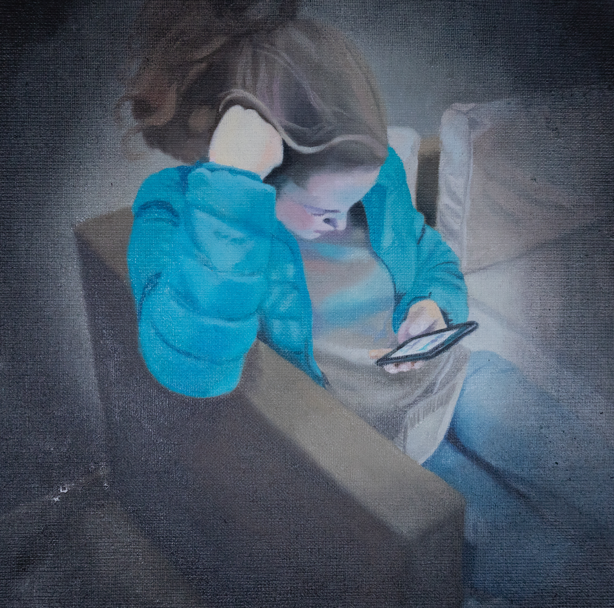 Jessica, Oil on Canvas