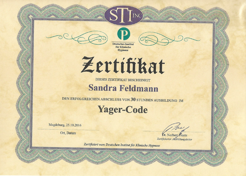 YagerCode,  Dr. Norbert Preetz