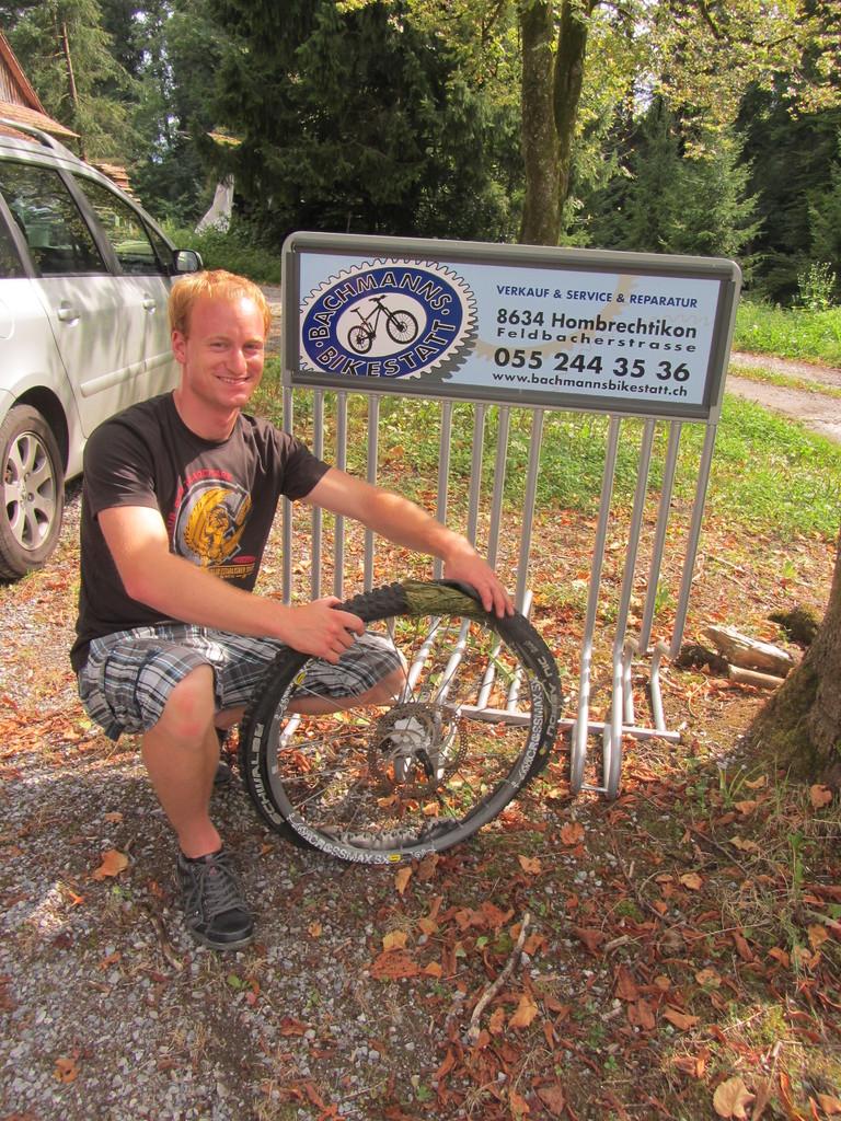Bachmanns Bikestatt, Remos Tubless-Kit