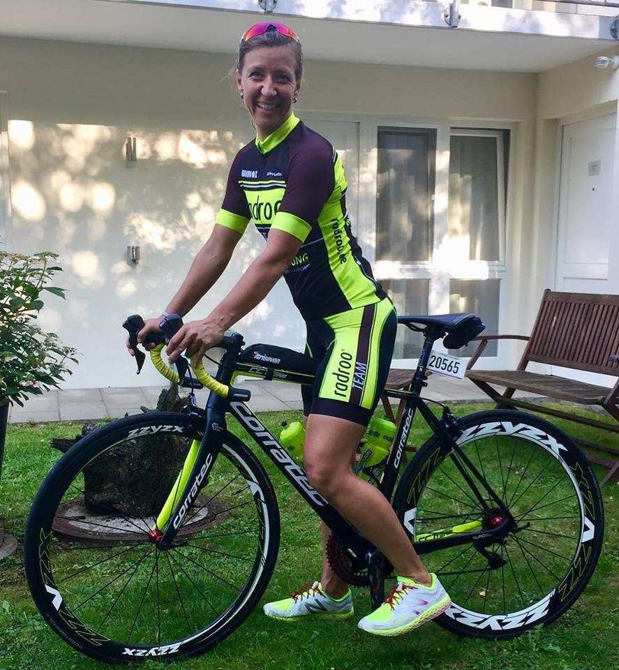 """Yvonne Schäfer: """"Es musste noch schnell ein Triathlon her! Was lag da näher als Europas größtes Multidistanzen Triathlon in Köln."""""""