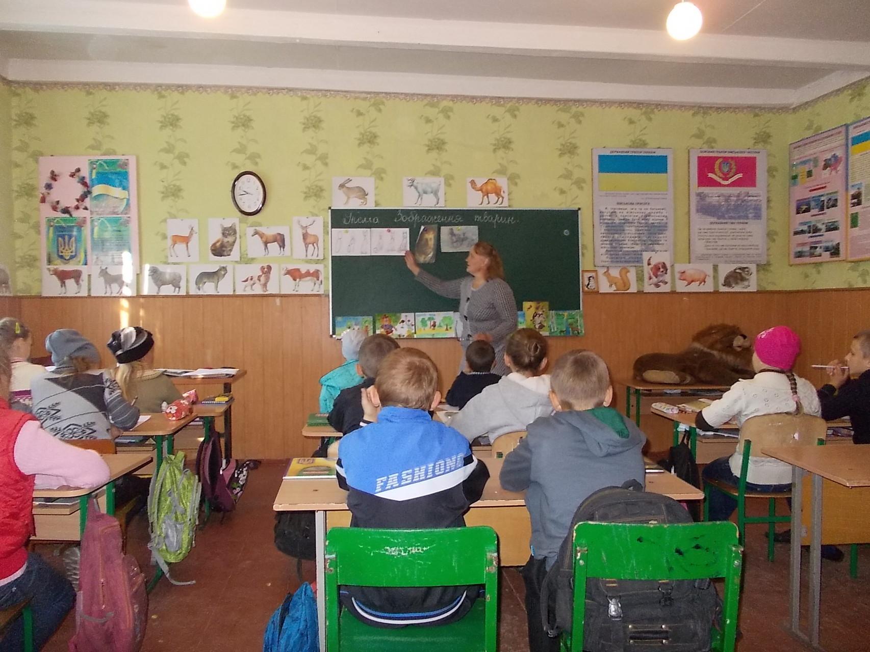 Образотворче мистецтво, 6 клас, вчитель Демидюк Зоя Адамівна