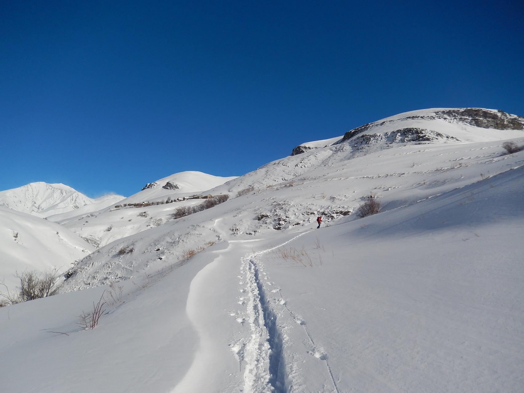 Ski de randonnée à La Grave / Skitouring in La Grave. Ecrins, France