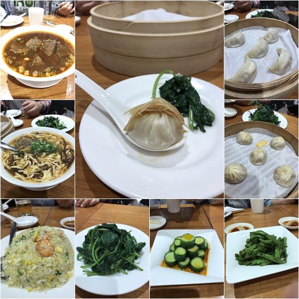 小龍包(トリュフ・カニみそ・ヘチマとエビ・鶏肉ほか)・蒸し餃子・チャーハンほかを注文